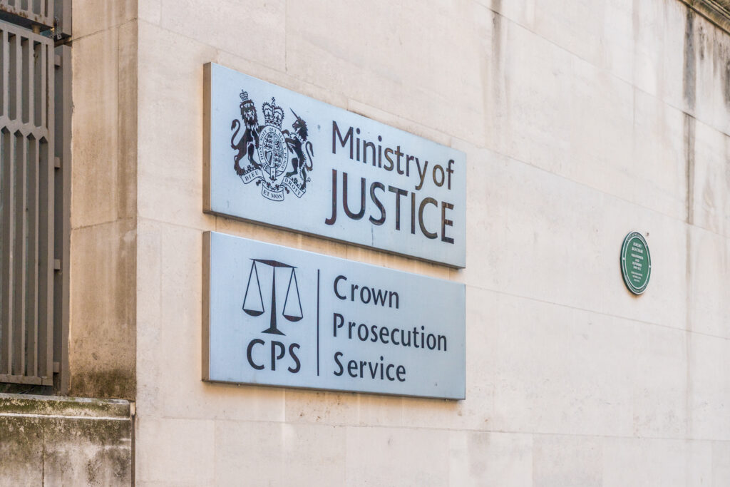MoJ and CPS sign